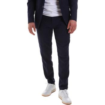 Oblačila Moški Elegantne hlače Sseinse PCE580SS Modra