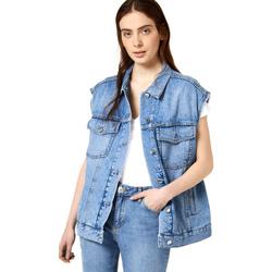 Oblačila Ženske Jeans jakne Liu Jo FA0344 D4470 Modra