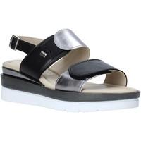 Čevlji  Ženske Sandali & Odprti čevlji Valleverde 32141 Črna