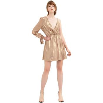 Oblačila Ženske Kratke obleke Fracomina FR20SP453 Zlato