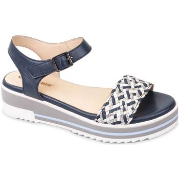 Čevlji  Ženske Sandali & Odprti čevlji Valleverde 15150 Modra