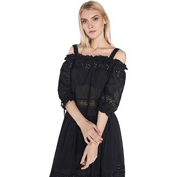 Oblačila Ženske Topi & Bluze Gaudi 811FD45010 Črna