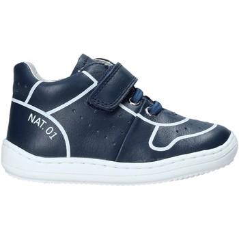 Čevlji  Otroci Visoke superge Naturino 2013463 01 Modra