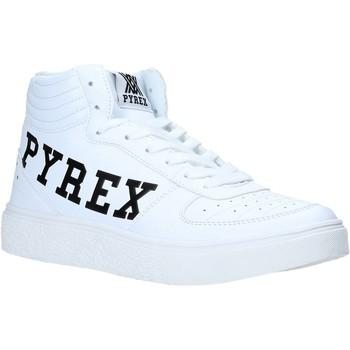 Čevlji  Ženske Visoke superge Pyrex PY020207 Biely