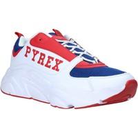 Čevlji  Moški Nizke superge Pyrex PY020206 Biely
