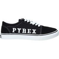 Čevlji  Moški Nizke superge Pyrex PY020201 Črna