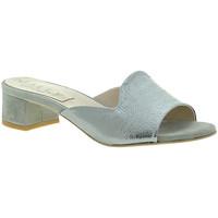 Čevlji  Ženske Natikači Mally 6195 Srebro