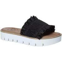 Čevlji  Ženske Natikači 18+ 5812 Črna