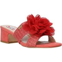 Čevlji  Ženske Natikači Love To Love EVA5106 Rdeča
