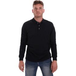 Oblačila Moški Polo majice dolgi rokavi Navigare NV82109 Modra
