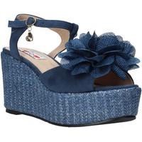 Čevlji  Ženske Sandali & Odprti čevlji Love To Love GIN579 Modra