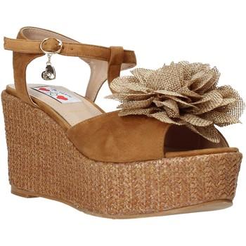 Čevlji  Ženske Sandali & Odprti čevlji Love To Love GIN575 Rjav