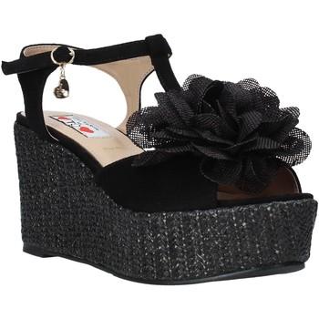 Čevlji  Ženske Sandali & Odprti čevlji Love To Love GIN583 Črna