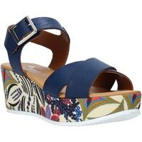 Čevlji  Ženske Sandali & Odprti čevlji Grace Shoes 12 Modra