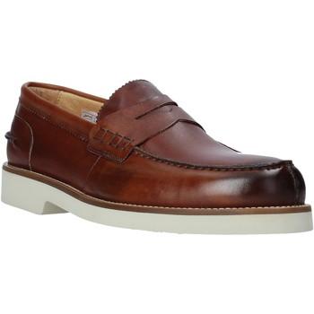 Čevlji  Moški Mokasini Exton 2102 Rjav