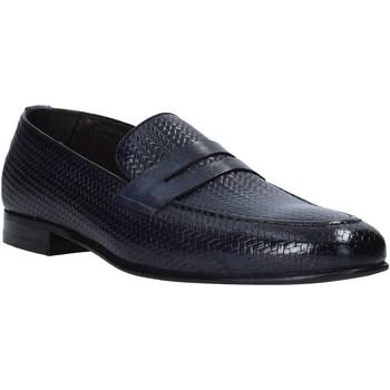 Čevlji  Moški Mokasini Exton 1021 Modra