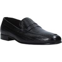 Čevlji  Moški Mokasini Exton 1021 Črna