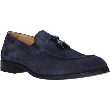 Čevlji  Moški Mokasini Exton 1111 Modra