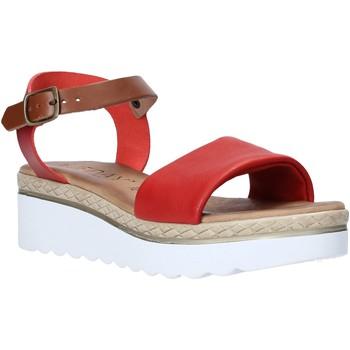 Čevlji  Ženske Sandali & Odprti čevlji Jeiday 1278-9696 Rdeča