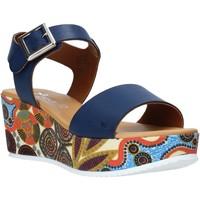 Čevlji  Ženske Sandali & Odprti čevlji Grace Shoes 03 Modra