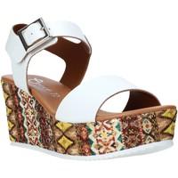 Čevlji  Ženske Sandali & Odprti čevlji Grace Shoes 06 Biely