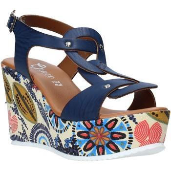 Čevlji  Ženske Sandali & Odprti čevlji Grace Shoes 09 Modra