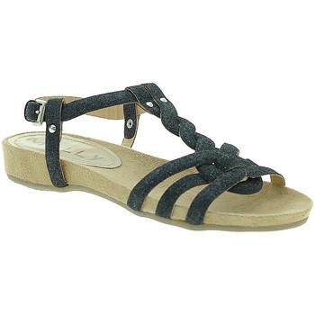 Čevlji  Ženske Sandali & Odprti čevlji Mally 3828GL Črna