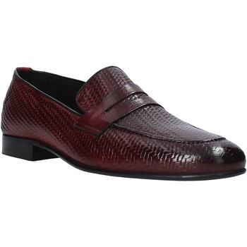 Čevlji  Moški Mokasini Exton 1021 Vijolična