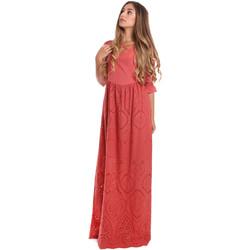 Oblačila Ženske Dolge obleke Fracomina FR20SM506 Rdeča