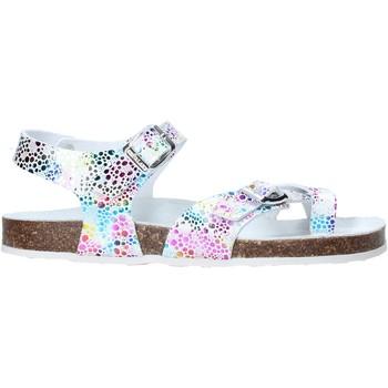 Čevlji  Deklice Sandali & Odprti čevlji Grunland SB1503 Biely