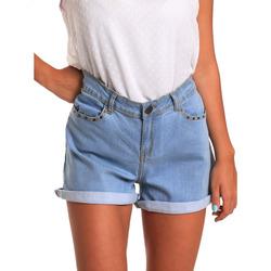 Oblačila Ženske Kratke hlače & Bermuda Smash S1871408 Modra