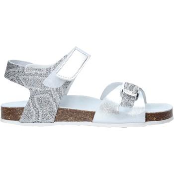 Čevlji  Deklice Sandali & Odprti čevlji Grunland SB1501 Srebro