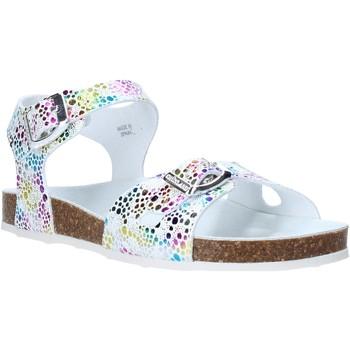 Čevlji  Deklice Sandali & Odprti čevlji Grunland SB1502 Biely