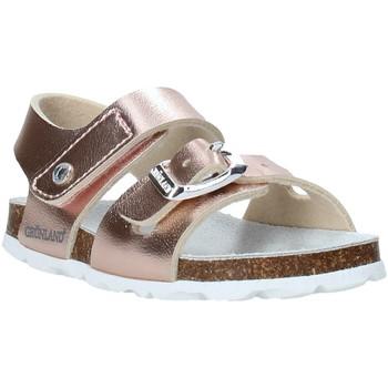 Čevlji  Deklice Sandali & Odprti čevlji Grunland SB0389 Roza