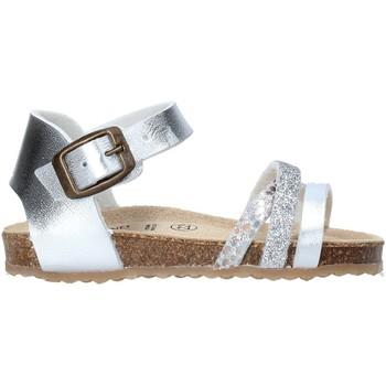 Čevlji  Deklice Sandali & Odprti čevlji Grunland SB1544 Srebro