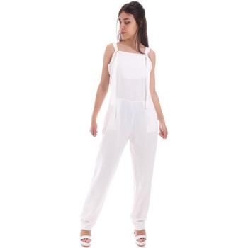 Oblačila Ženske Kombinezoni Gaudi 011BD25049 Biely