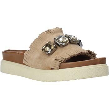 Čevlji  Ženske Natikači Bueno Shoes CM2217 Bež