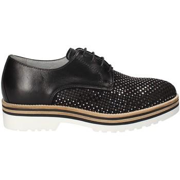 Čevlji  Ženske Čevlji Derby NeroGiardini P805223D Črna