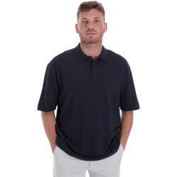 Oblačila Moški Polo majice kratki rokavi Les Copains 9U9016 Modra