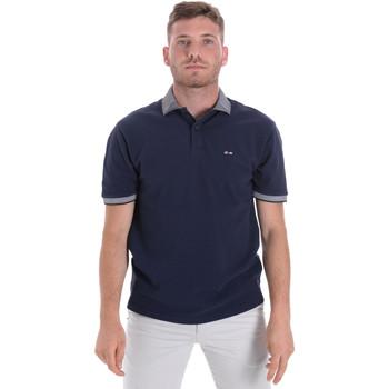 Oblačila Moški Polo majice kratki rokavi Les Copains 9U9024 Modra