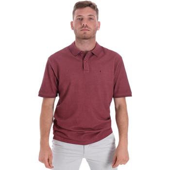 Oblačila Moški Polo majice kratki rokavi Les Copains 9U9016 Rdeča