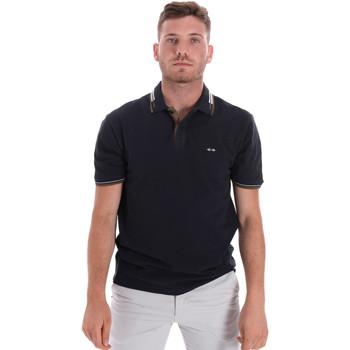 Oblačila Moški Polo majice kratki rokavi Les Copains 9U9021 Modra