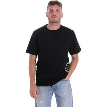Oblačila Moški Majice s kratkimi rokavi Converse 10018872-A03 Črna