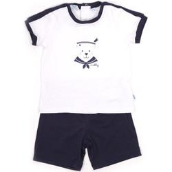 Oblačila Dečki Otroški kompleti Melby 20L5000 Modra