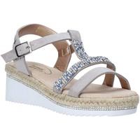 Čevlji  Deklice Sandali & Odprti čevlji Miss Sixty S20-SMS785 Srebro