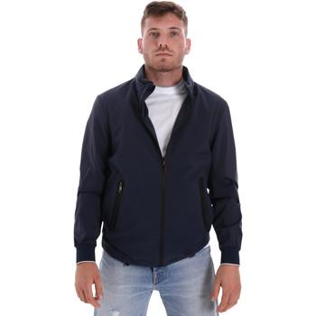 Oblačila Moški Jakne Les Copains 9UB082 Modra