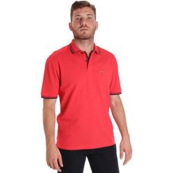 Oblačila Moški Polo majice kratki rokavi Les Copains 9U9020 Rdeča