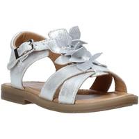 Čevlji  Deklice Sandali & Odprti čevlji Grunland PS0062 Srebro