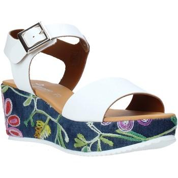 Čevlji  Ženske Sandali & Odprti čevlji Grace Shoes 02 Biely