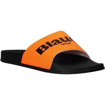 Čevlji  Moški Natikači Blauer S0BAY02/FLU Oranžna